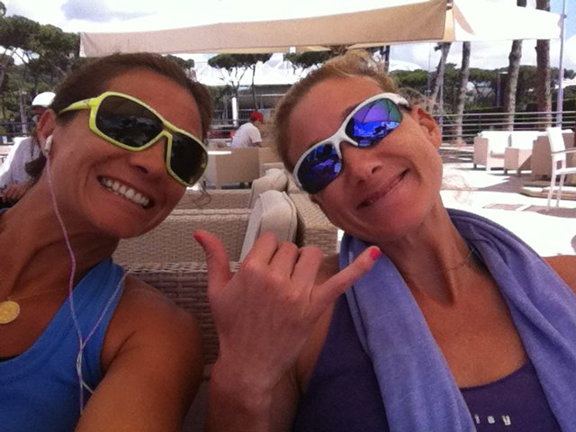 Which Olympic Beach Volleyball Wife Has a Major League Husband?