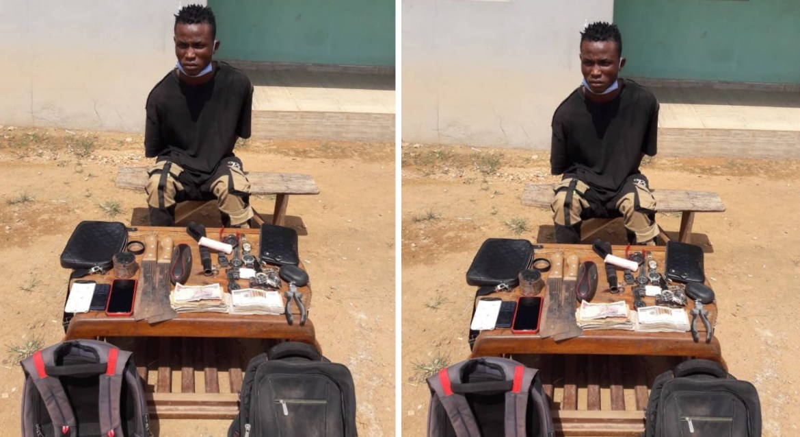 Police arrests suspected armed robber terrorising Ibadan residents