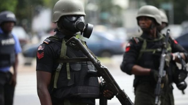Police embark on show of force in Ibadan