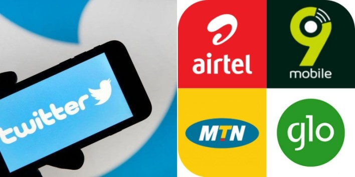BREAKING: MTN, Airtel, Glo, others block access to Twitter in Nigeria
