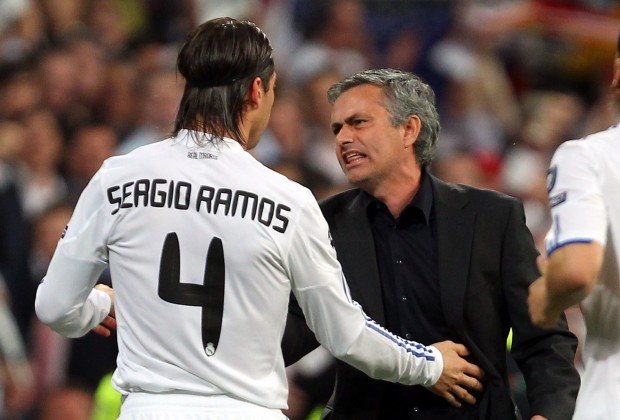 Mourinho reveals league he wants Ramos to play after leaving Real Madrid