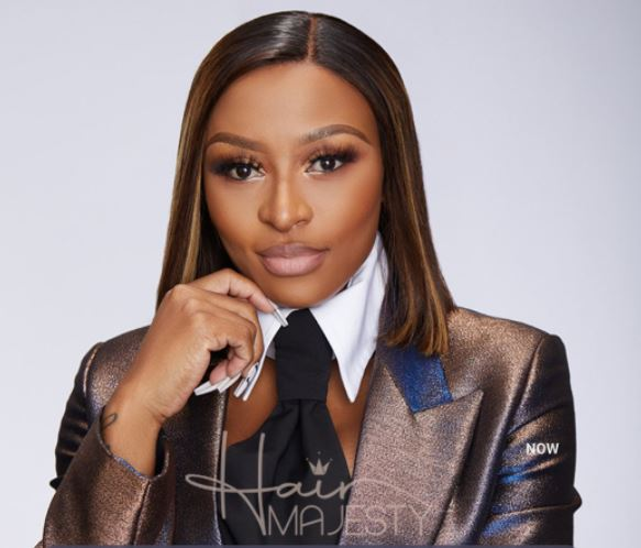 DJ Zinhle launches own wig brand 'Hair Majesty'