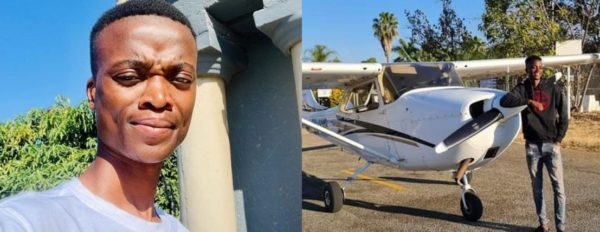 King Monada shows off fancy private jet
