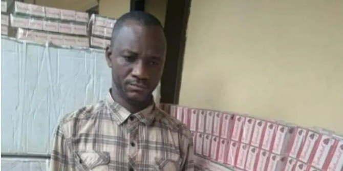 NDLEA arrests 'drug kingpin', recovers 548000 tramadol tablets in Anambra
