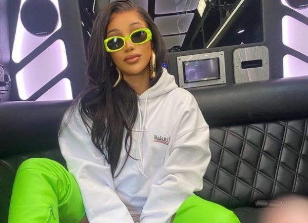 Cardi B makes history as fastest female rapper to hit 100million followers on IG