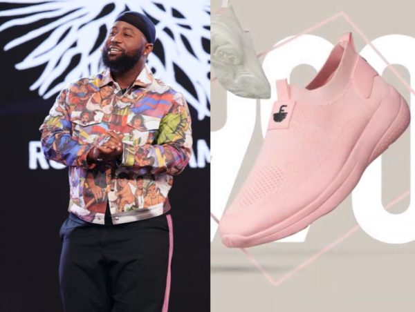 Cassper Nyovest claps back at troll who criticised the colour of his sneaker