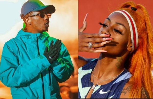 Emtee hypes US sprinter Sha'Carri after testing positive for weed