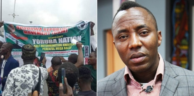 Yoruba Nation: Sowore reacts as stray bullet kills 14-year-old girl