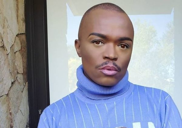 Somizi exposes an intruder in his home (Video)