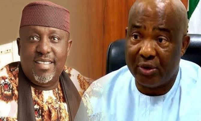You can't blackmail me out of APC – Okorocha attacks Uzodinma