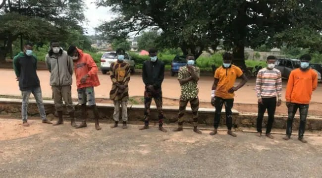 Police arrest nine suspected cultists at handover ceremony in Oyo