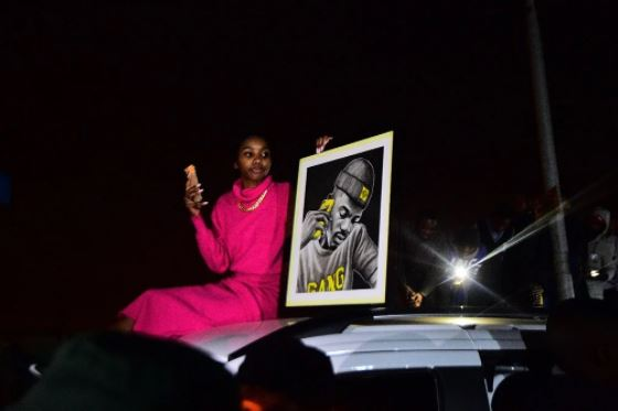 Killer Kau's fans shutdown Soweto in honour of him (Video)