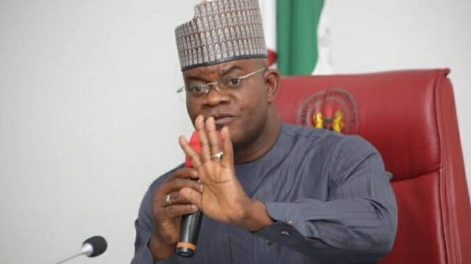 'I run a government of integrity', says Yahaya Bello as he reacts to EFCC's case against Kogi
