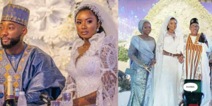 Photos: Jonathan, Ahmed Lawan, Gov Makinde, Melaye others attend Gov. Mohammed's daughter's wedding in Abuja