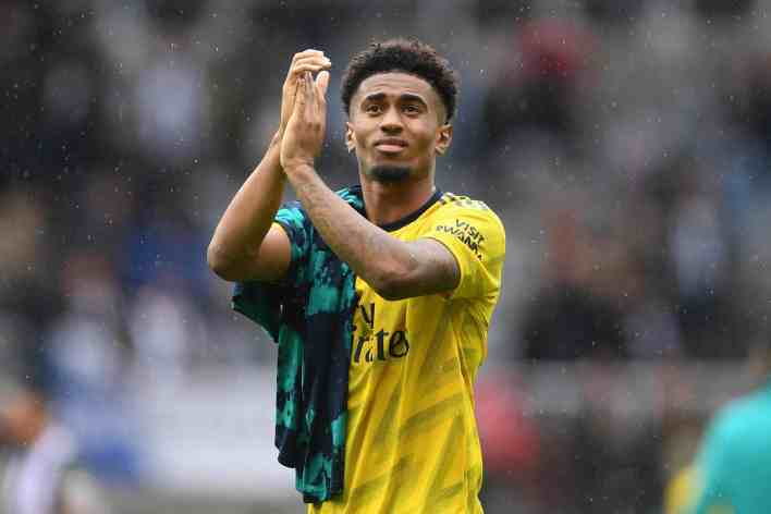 Feyenoord boss hints at Reiss Nelson's standing at Arsenal: 'He didn't have much of a future there'