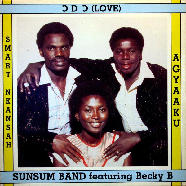 Smart Nkasah, Agyaaku & Sunsum Band Featuring Becky Binney - Odo ( Love ) Album Lp - African Music Online