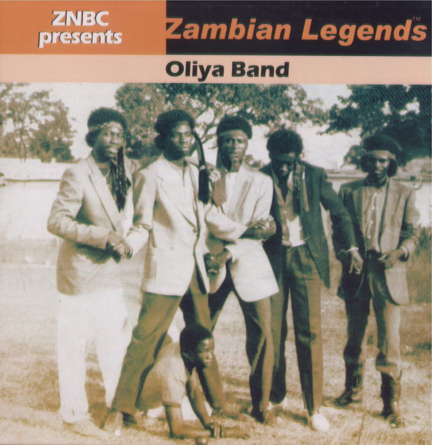 Oliya Band - Znbc Presents Zambian Legends album lp - afrosunny- african music online- zambia