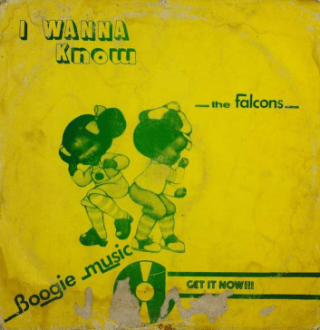 The Falcons Dance Band – I Wanna Know album lp - afrosunny - african music online - nigerian