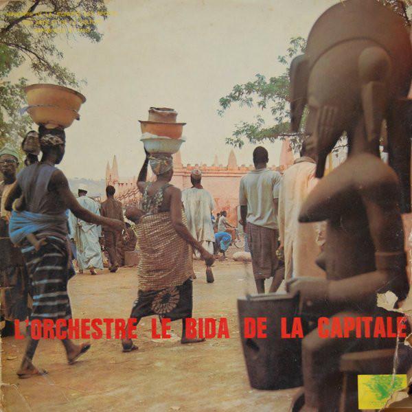 Orchestre Le Bida De La Capitale - St album lp -afrosunny-african music online