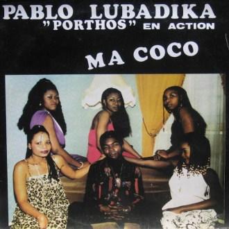 Pablo Lubadika Porthos – En Action Ma Coco album lp -afrosunny -african music online congo
