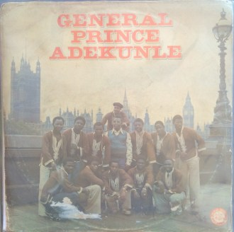 General Prince Adekunle album lp - st - afrosunny- african music online