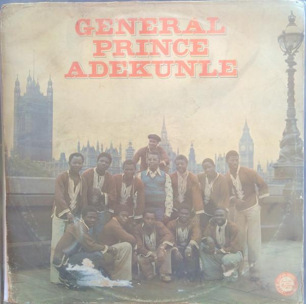 General Prince Adekunle album lp - st - afrosunny- african music online