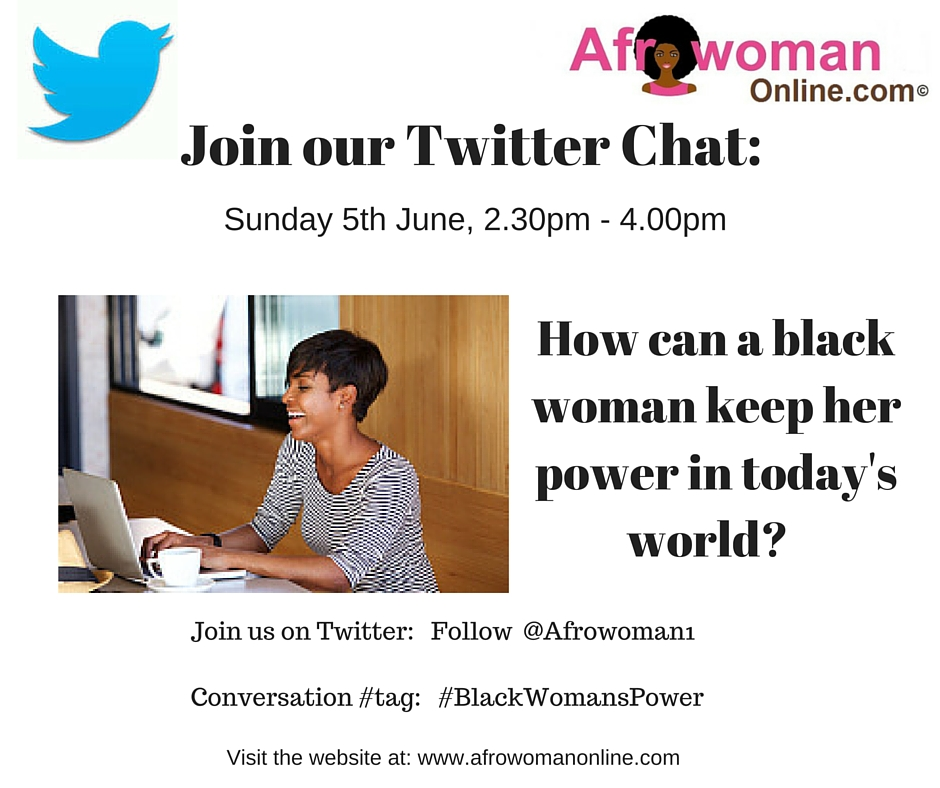 Twitter Chat- Where is the black woman's place in the world- (1)