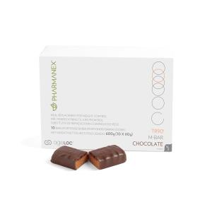TR90 M-Bar: Chocolate - pak van 30 repen