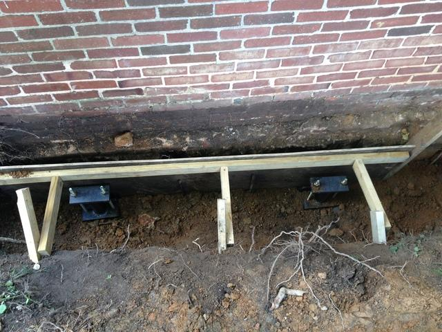 Ricky and Penny's home was in need of foundation support. Our push pier system is the permanent solution.