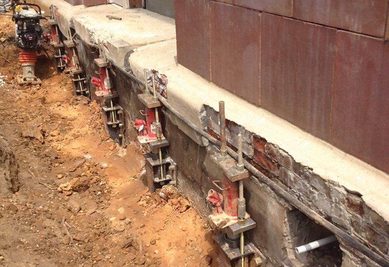 Deep Foundation Underpinning
