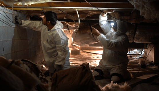 OUR CRAWL SPACE EXPERTS ARE HERE TO HELP