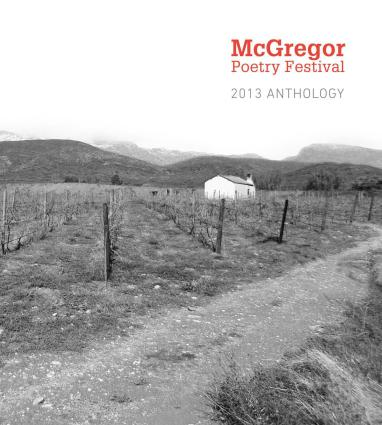 Front cover image of the 2013 McGregor Poetry Anthology