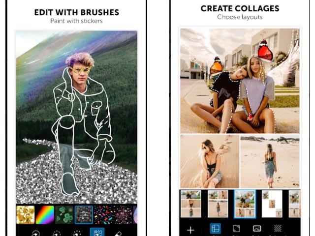 Create Collages Picsart App Screenshot