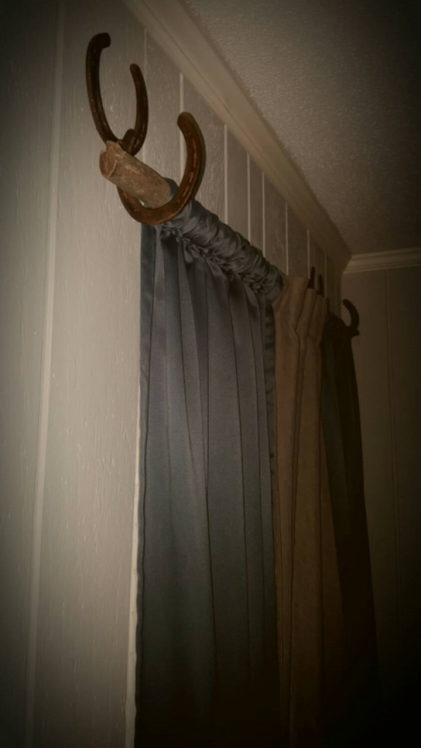 Rustic Curtain Hangers Aftcra