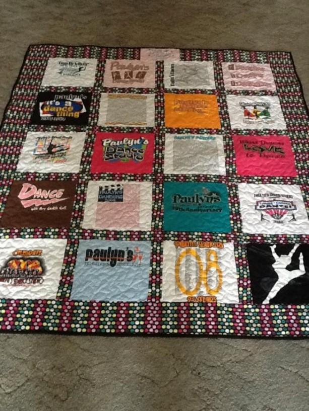 T Shirt Quilt Order