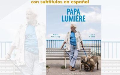"""Proyección de la Película """"PAPA LUMIÈRE"""""""