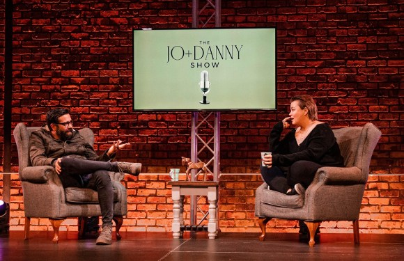 Jo Engelbrecht (Jo Black) and Danny Painter join forces to 'make kindness trend' with new show