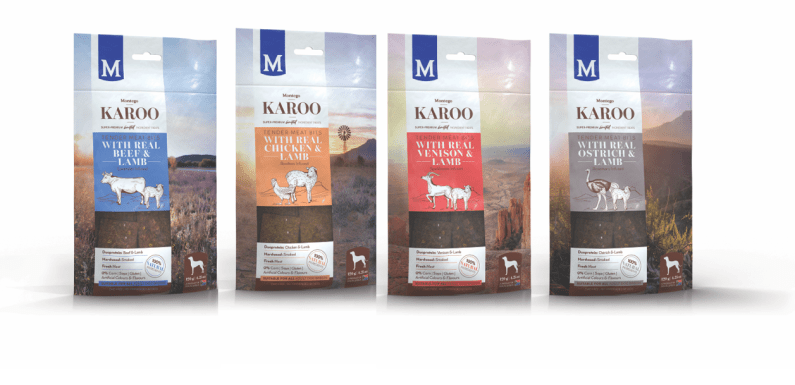Treat your dogs to Montego's new Karoo Tender Meat Bits range of treats