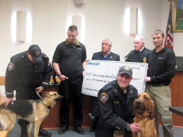Illinois: Aftermath Services Presents Grant for K-9 Unit ...