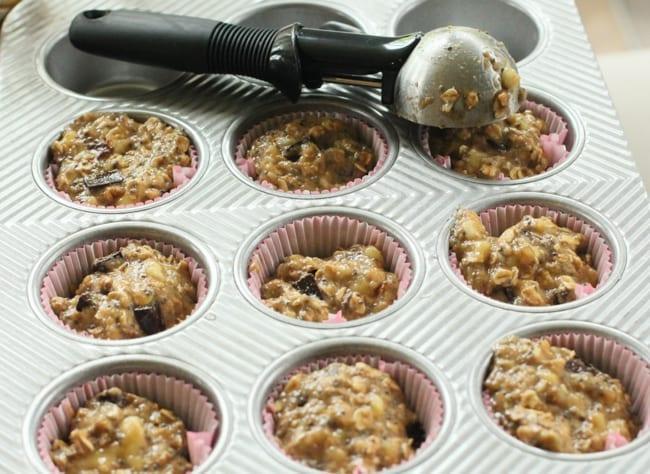 Healthy Banana Cupcake, Recipe, Baking