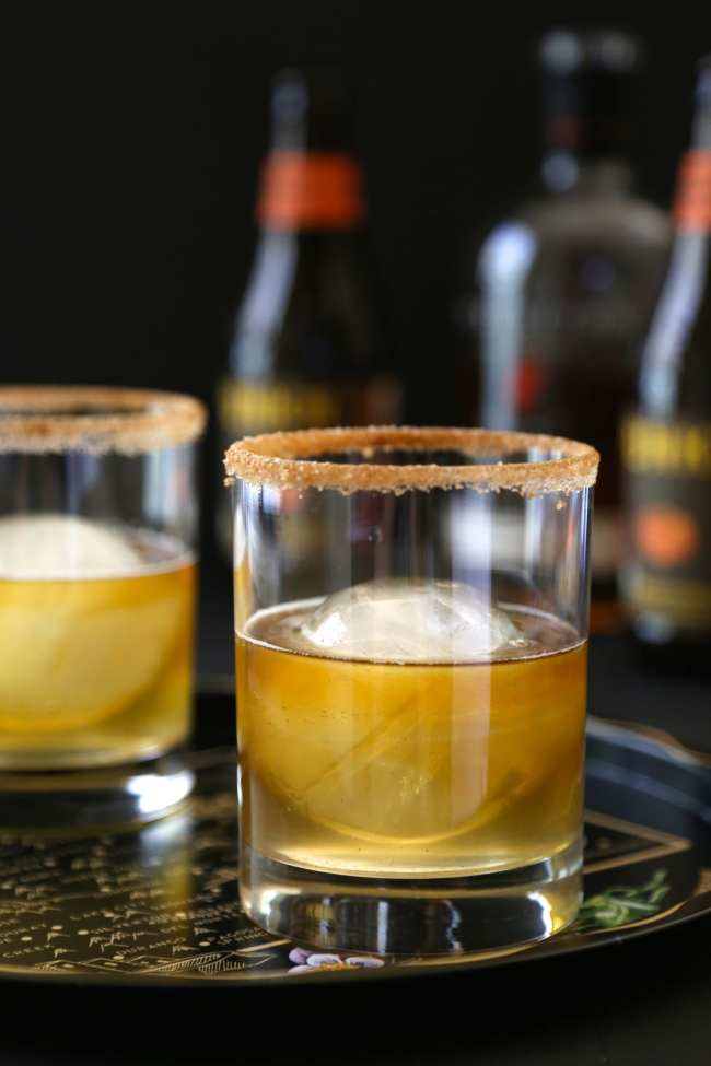 Fall Cocktail - Pumpkin - Ginger - Cinnamon