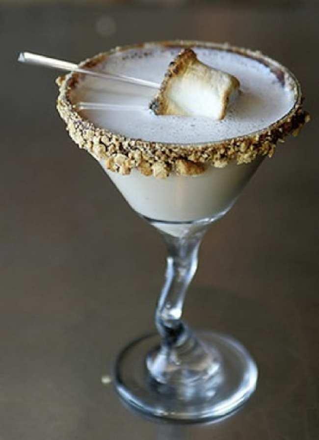Smores Martini - Fall Cocktails - Recipe