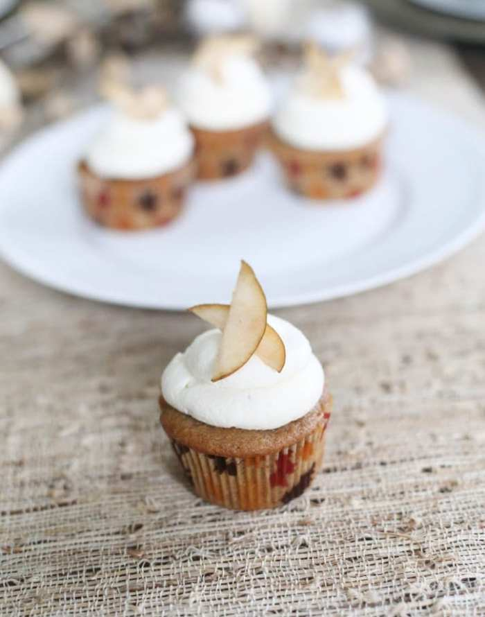 Maple Syrup - Cupcake - Recipe - Cupcake of the Month - Pear - Apple- Fall Flavors - Afternoon Espresso-3