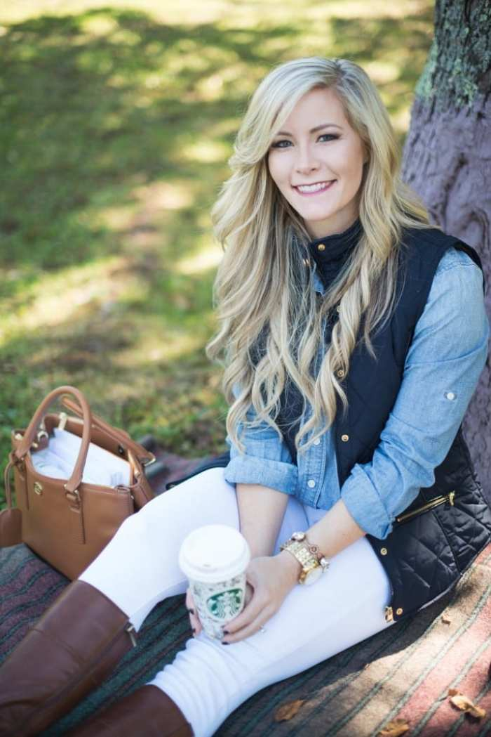 85ee4794134 Thanksgiving-Holiday-Outfit Ideas-Afternoon Espresso-Blogger-Puffer Vest- J