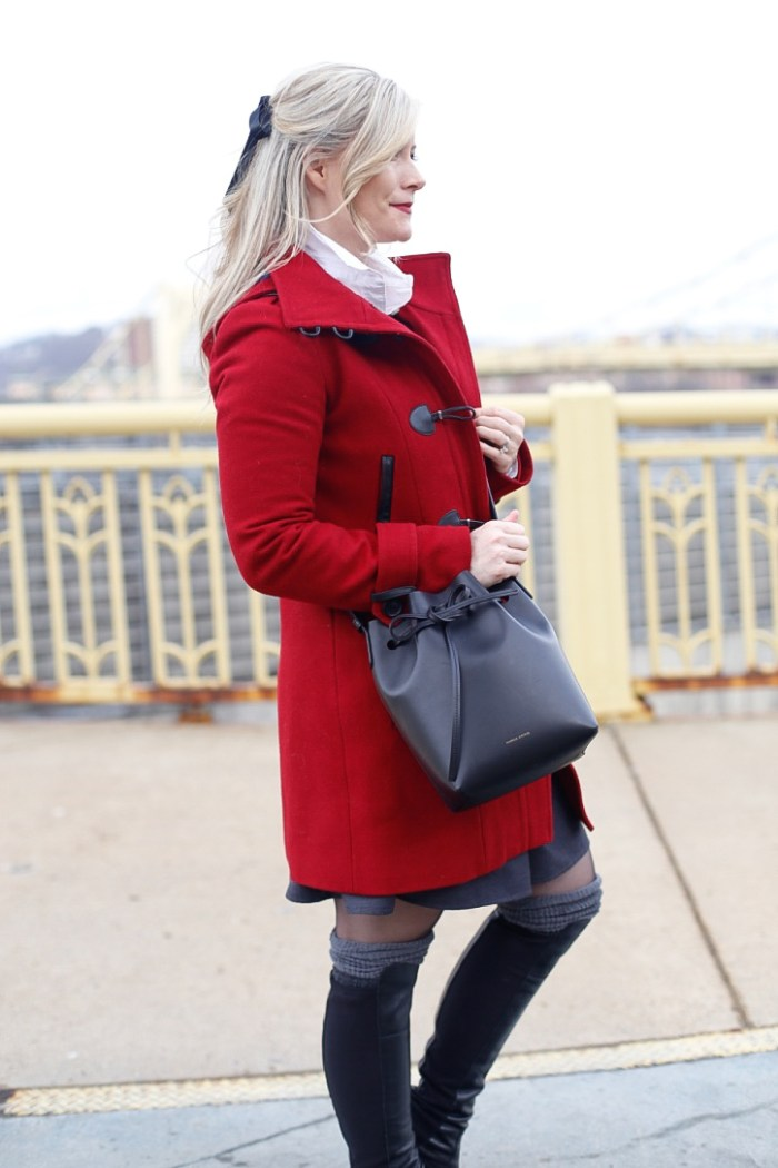 Red-Coat-Tommy-Hilfiger-Coat-Afternoon-Espresso-Red-Blogger (1 of 1)