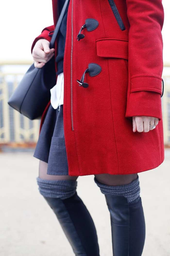 Red-Coat-Tommy-Hilfiger-Coat-Afternoon-Espresso-Red-Blogger (3 of 6)