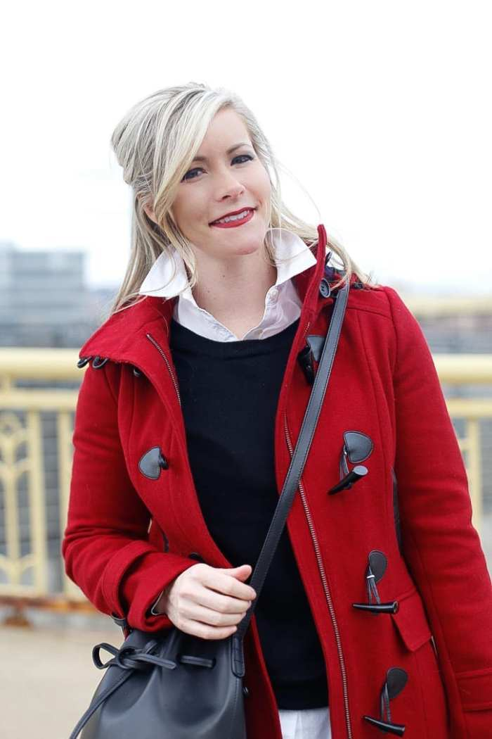 Red-Coat-Tommy-Hilfiger-Coat-Afternoon-Espresso-Red-Blogger (4 of 6)