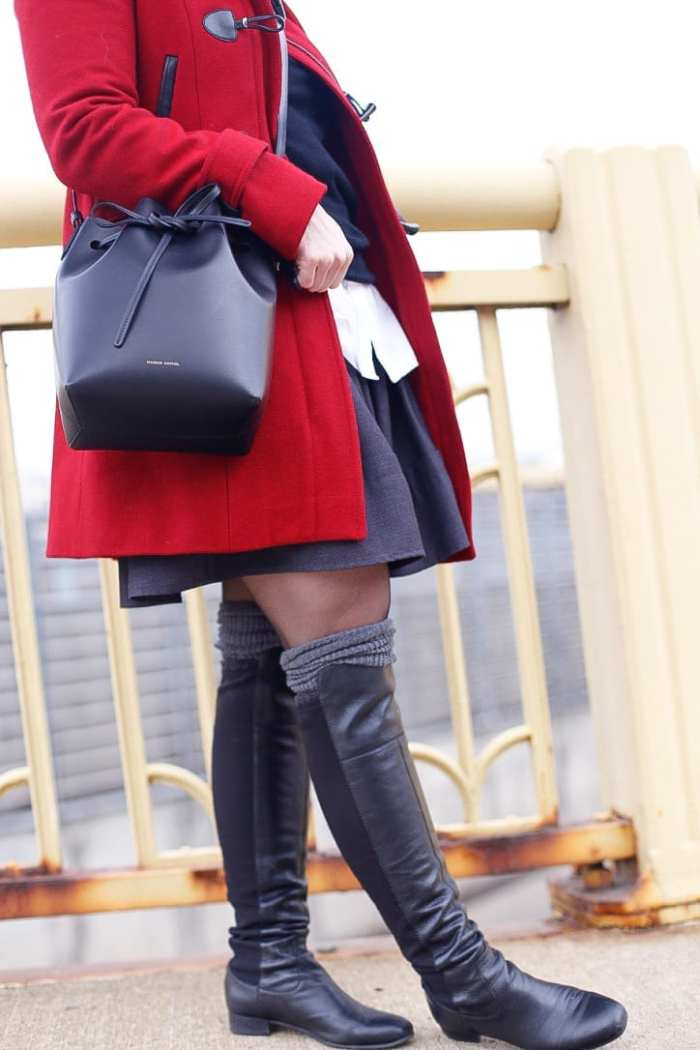 Red-Coat-Tommy-Hilfiger-Coat-Afternoon-Espresso-Red-Blogger (6 of 6)
