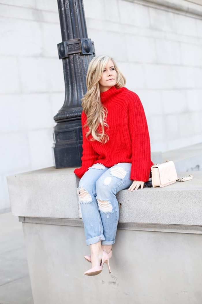 Valentine-Day-Holiday-Look-Cozy-Missguided-Sweater-Free-People-Fashion (1 of 9)