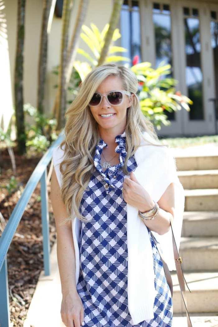 gingham dress-Maui-Vacation-Travel-Hawaii-Poshture-Boutique-Blogger-Chloe Bag-4
